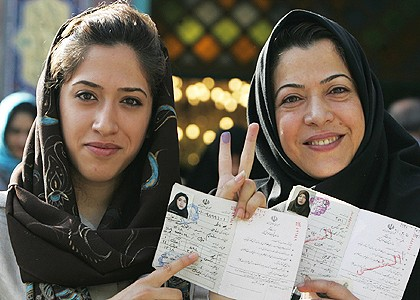 Iranian women election