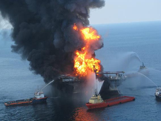 BP oil explosion